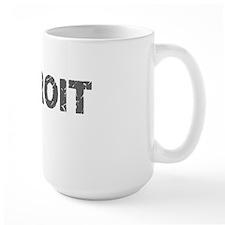 I am Detroit Grey Mug