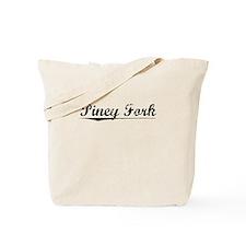 Piney Fork, Vintage Tote Bag