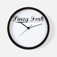 Piney Fork, Vintage Wall Clock
