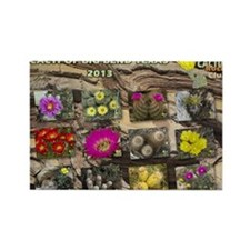 Cacti of Big Bend cover Rectangle Magnet