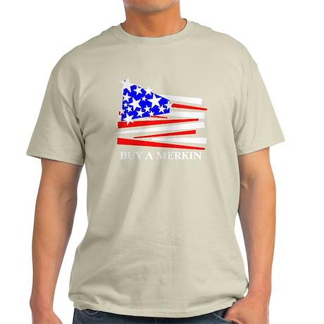 Buy A Merkin Light T-Shirt