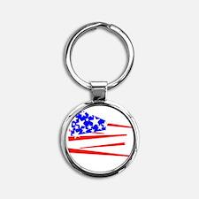 Buy A Merkin Round Keychain