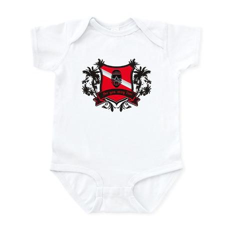 Dive Crest Infant Bodysuit