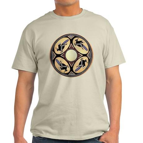 MIMBRES FOUR GRASSHOPPERS BOWL DESIGN Light T-Shir