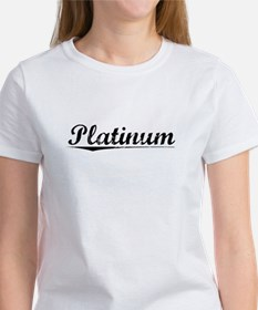 Platinum, Vintage Women's T-Shirt
