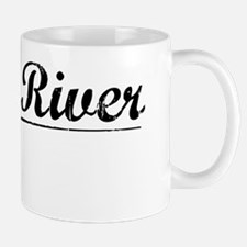 Piney River, Vintage Mug