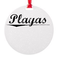Playas, Vintage Ornament