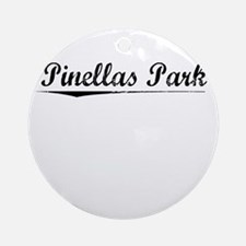 Pinellas Park, Vintage Round Ornament