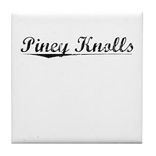 Piney Knolls, Vintage Tile Coaster