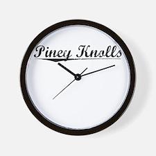 Piney Knolls, Vintage Wall Clock