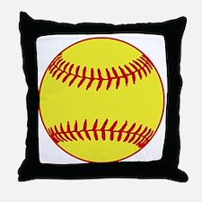 Sofball Throw Pillow