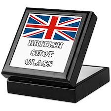 British Shot Glass Keepsake Box