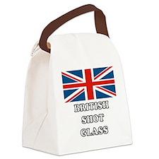 British Shot Glass Canvas Lunch Bag