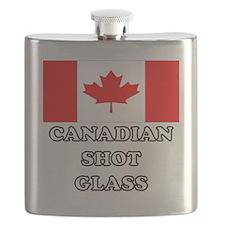 Canadian Shot Glass Flask