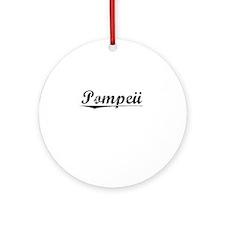 Pompeii, Vintage Round Ornament