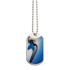 Prosthetic hip (artificial hip joint) Dog Tags