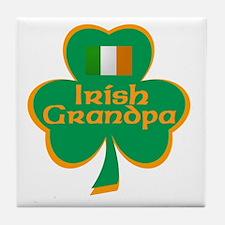 Irish Grandpa Tile Coaster