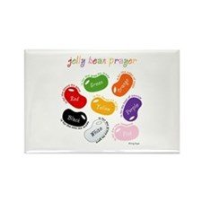 Jelly Bean Prayer Rectangle Magnet