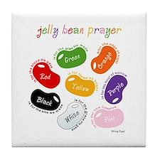 Jelly Bean Prayer Tile Coaster