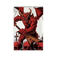Eternal Edge-Rock N Roll Devils Rectangle Magnet