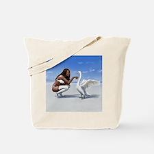 swan rebuked Tote Bag