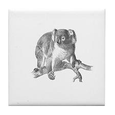 Koala Bears Tile Coaster