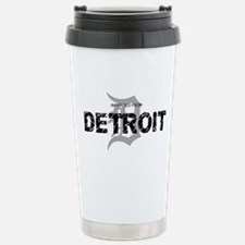 Imported From Detroit Black w/D Travel Mug