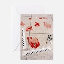 Recording evidence Greeting Card