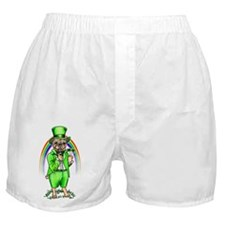 Pug St Patrick's Day Boxer Shorts