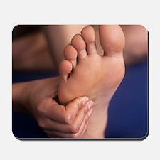 Reflexology massage Mousepad