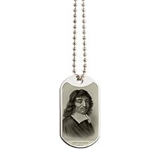 Rene Descartes, French mathematician Dog Tags