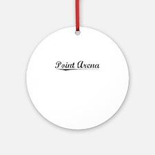 Point Arena, Vintage Round Ornament