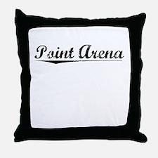 Point Arena, Vintage Throw Pillow