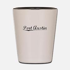 Port Austin, Vintage Shot Glass