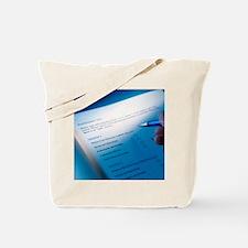 Psychometric test Tote Bag
