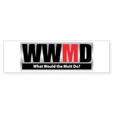 WW the Mutt D Bumper Bumper Sticker