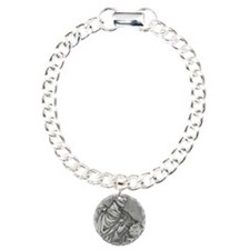 Pythagoras, Ancient Gree Charm Bracelet, One Charm