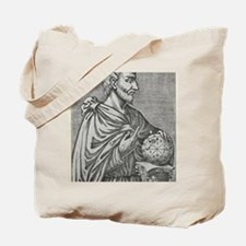 Pythagoras, Ancient Greek mathematician Tote Bag