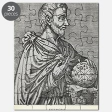 Pythagoras, Ancient Greek mathematician Puzzle