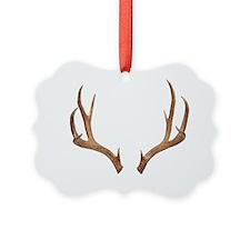 Ten-point deer antlers Ornament
