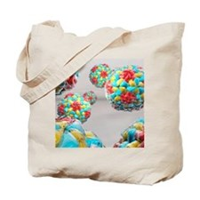 Rhinovirus particles Tote Bag