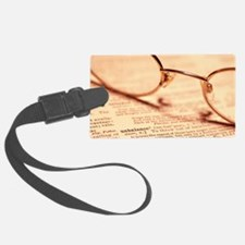Reading glasses Luggage Tag