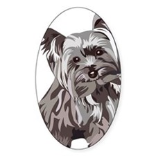 Neutral Yorkie Decal