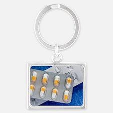 Ramipril drug blister pack Landscape Keychain