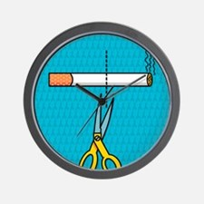 Quitting smoking Wall Clock