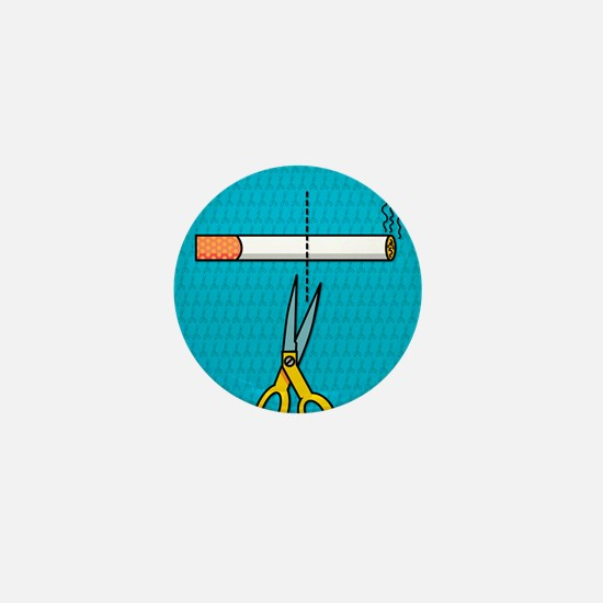 Quitting smoking Mini Button