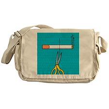 Quitting smoking Messenger Bag