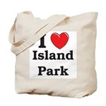 I Love Island Park Tote Bag