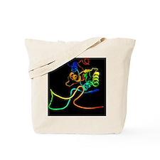 Ribosome and mRNA Tote Bag