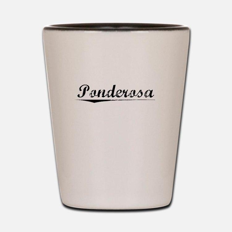 Ponderosa, Vintage Shot Glass